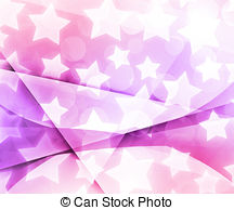 Clipart of Dreamy dark, deep blue and pink sky background with.