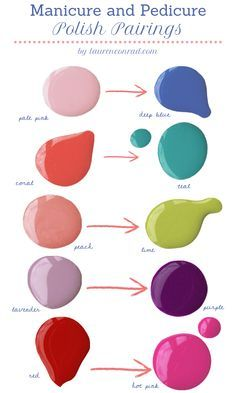 Pale Pink Deep Blue Coral Teal Peach Lime Lavender Purple Red Hot.