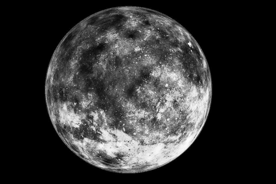 Dark Moon transparent PNG.