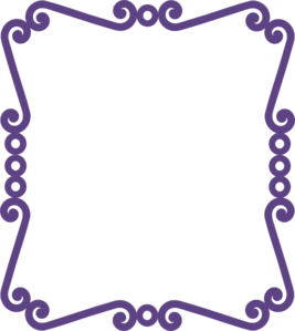 Scrolly Frame New Purple Clip Art at Clker.com.