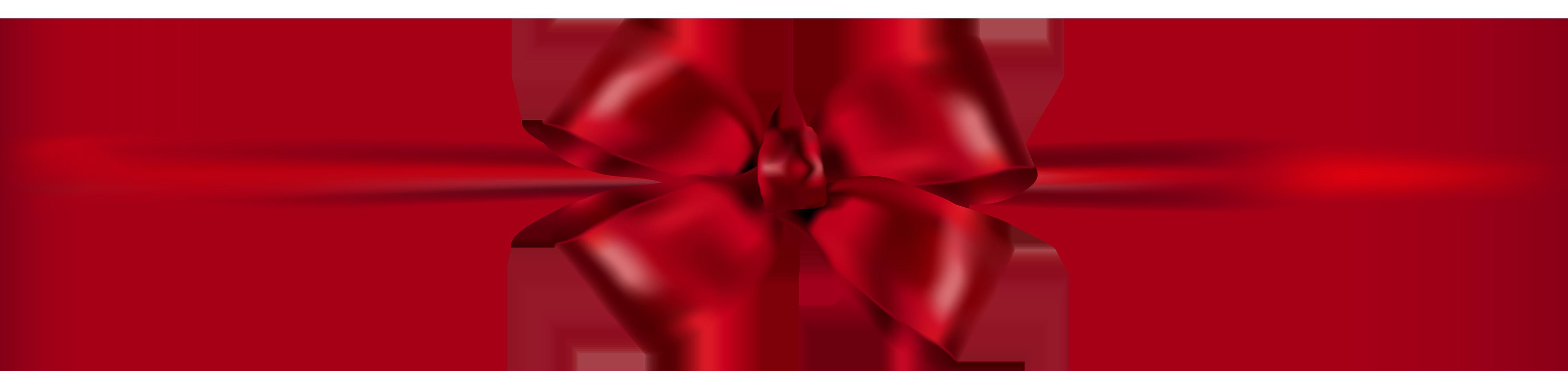 Beautiful Dark Red Ribbon PNG Clipart.