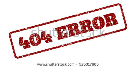 Red Rubber Seal Stamp 404 Error Stock Illustration 526671571.