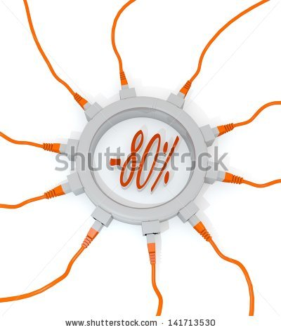 Cat Red Cable Network Stock Photos, Royalty.