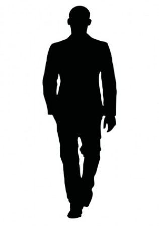Shadow people clipart images.