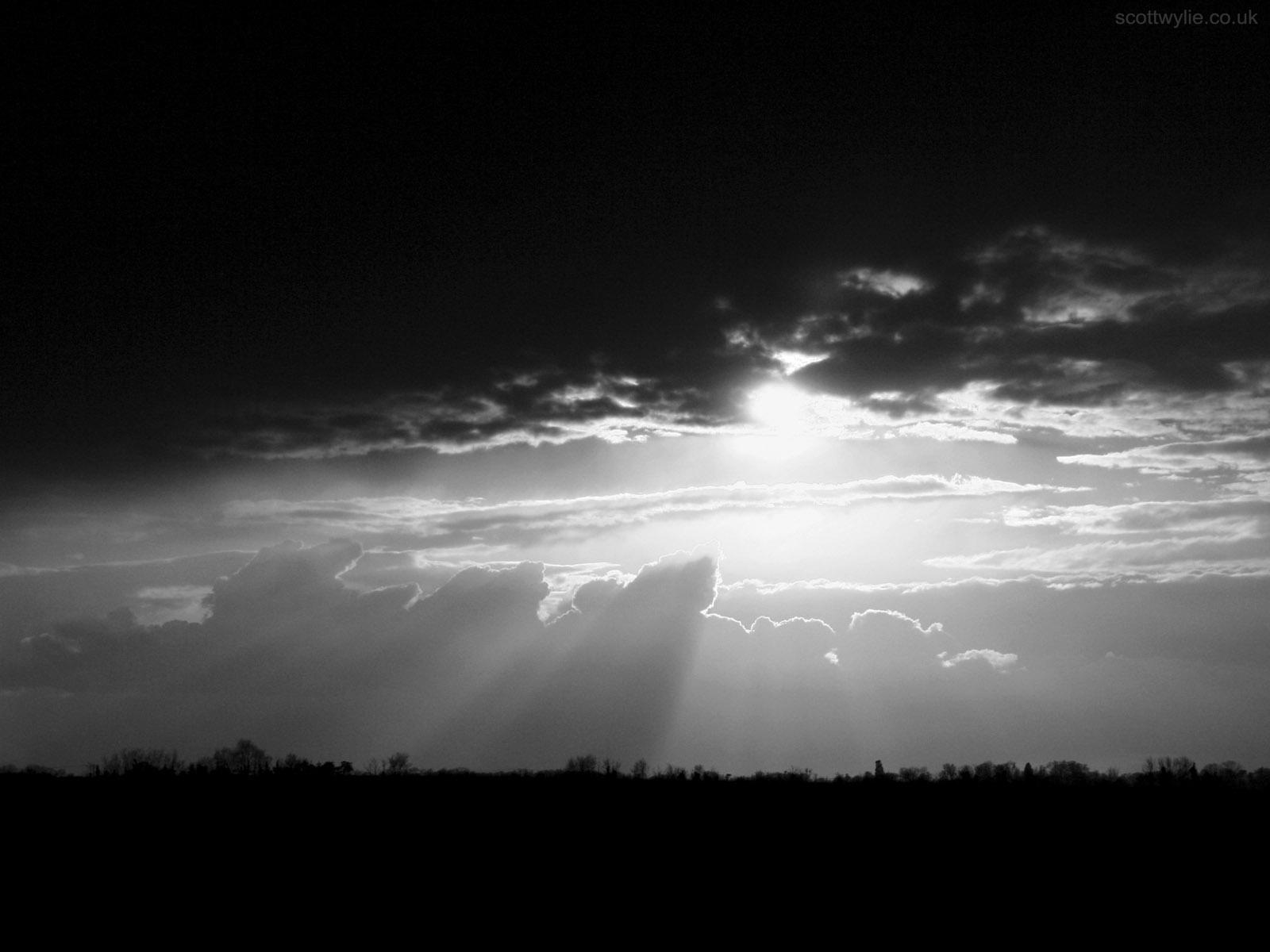 Dark Sky Background.