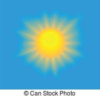 Sun sky clipart.