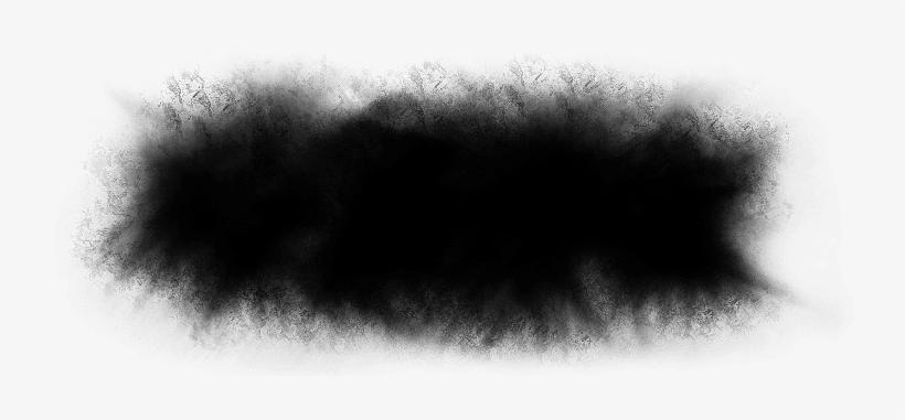 Black Smoke Png Image Background.