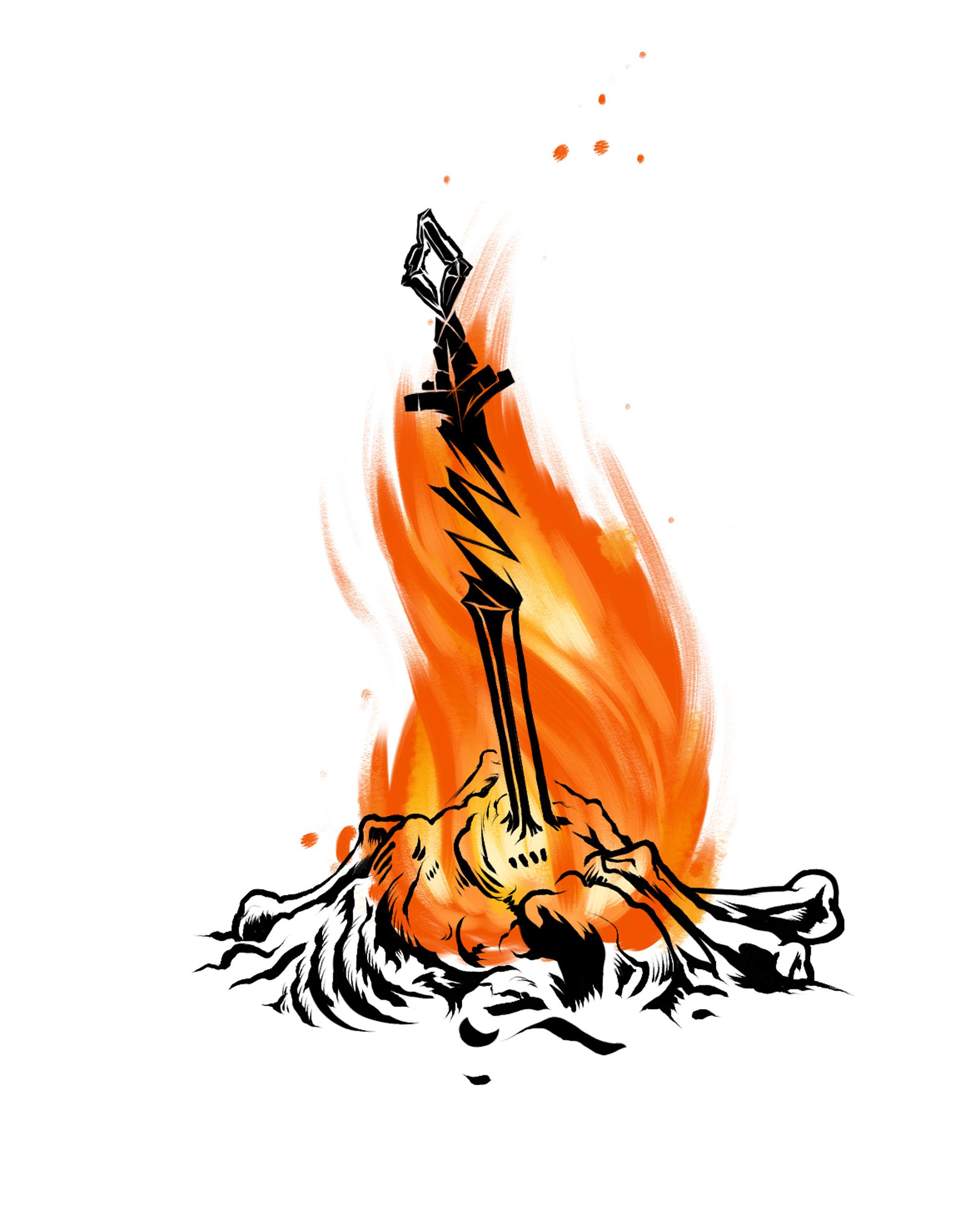 Showing post & media for Dark souls bonfire cartoon.
