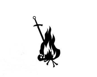 Dark Souls Bonfire Clipart.