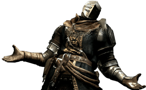 Dark Souls 3 Knight transparent PNG.