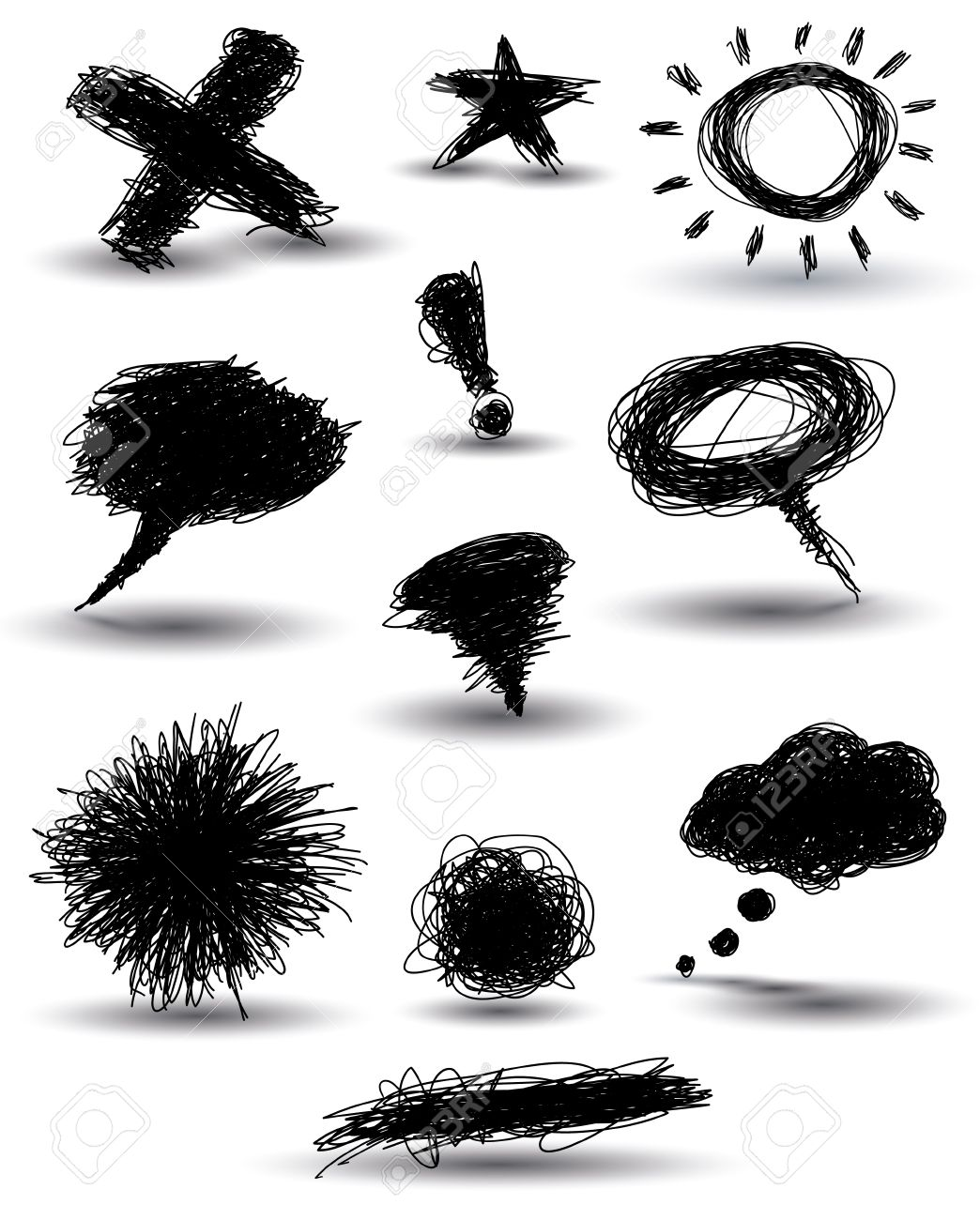 815 Dark Thoughts Stock Illustrations, Cliparts And Royalty Free.
