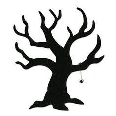 Dark tree clipart.