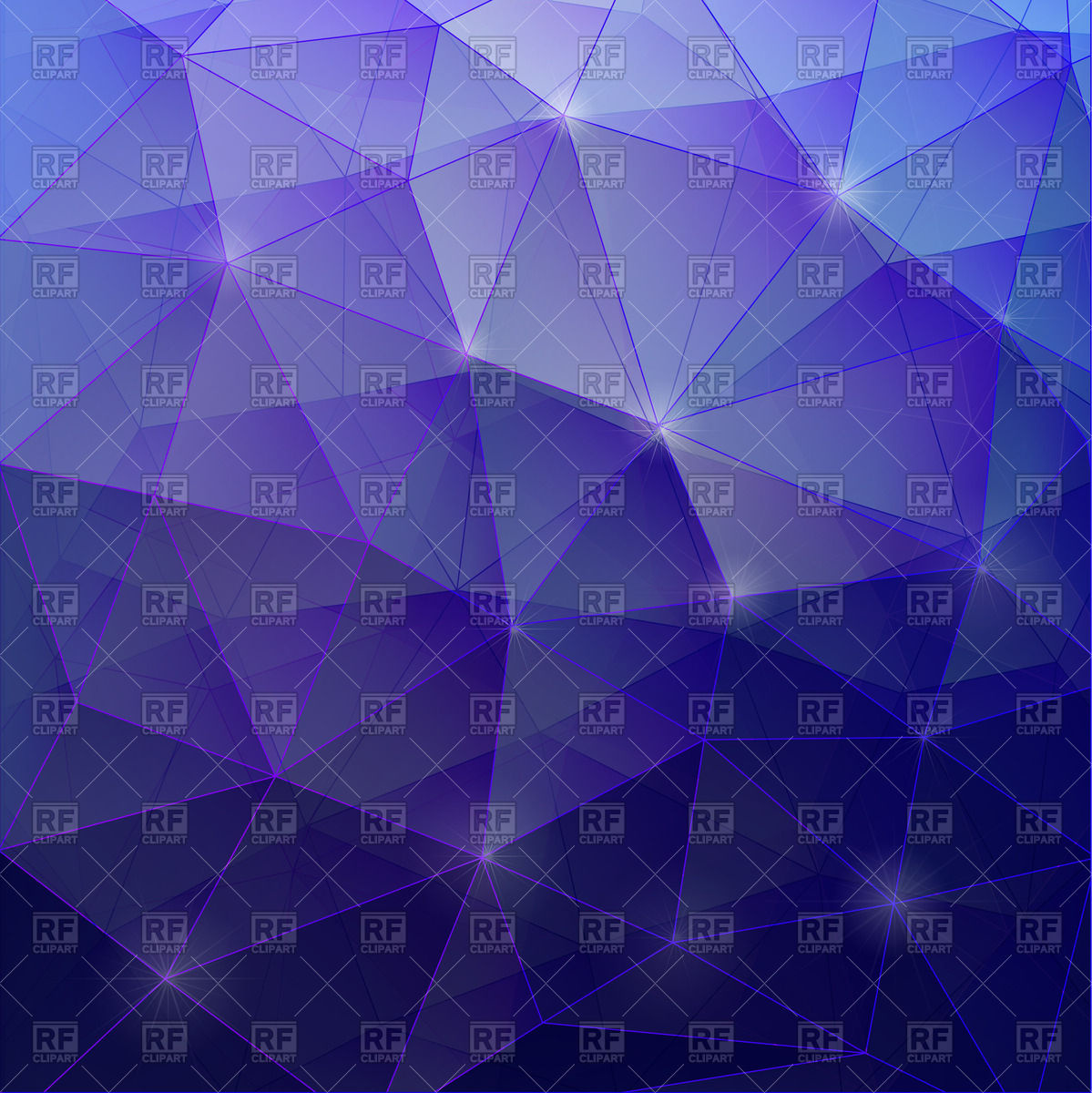 Dark violet gradient polygonal background Vector Image #72907.