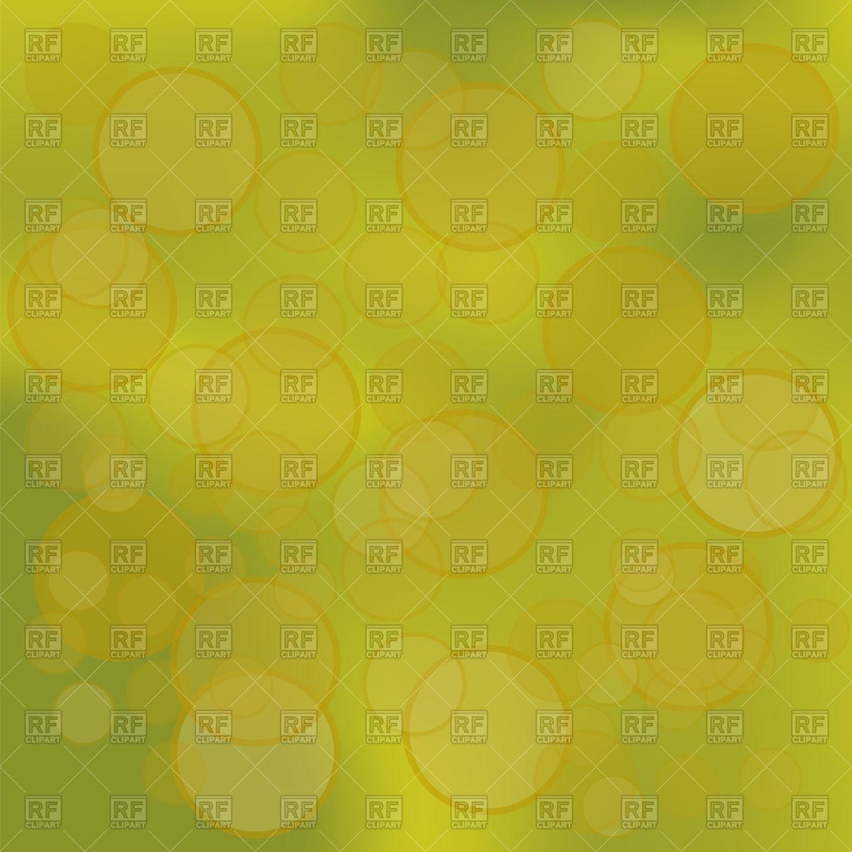 Dark yellow bokeh background Vector Image #71938.
