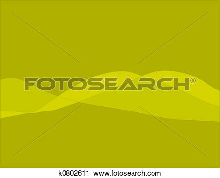 Clipart of Dark yellow Lines k0802611.