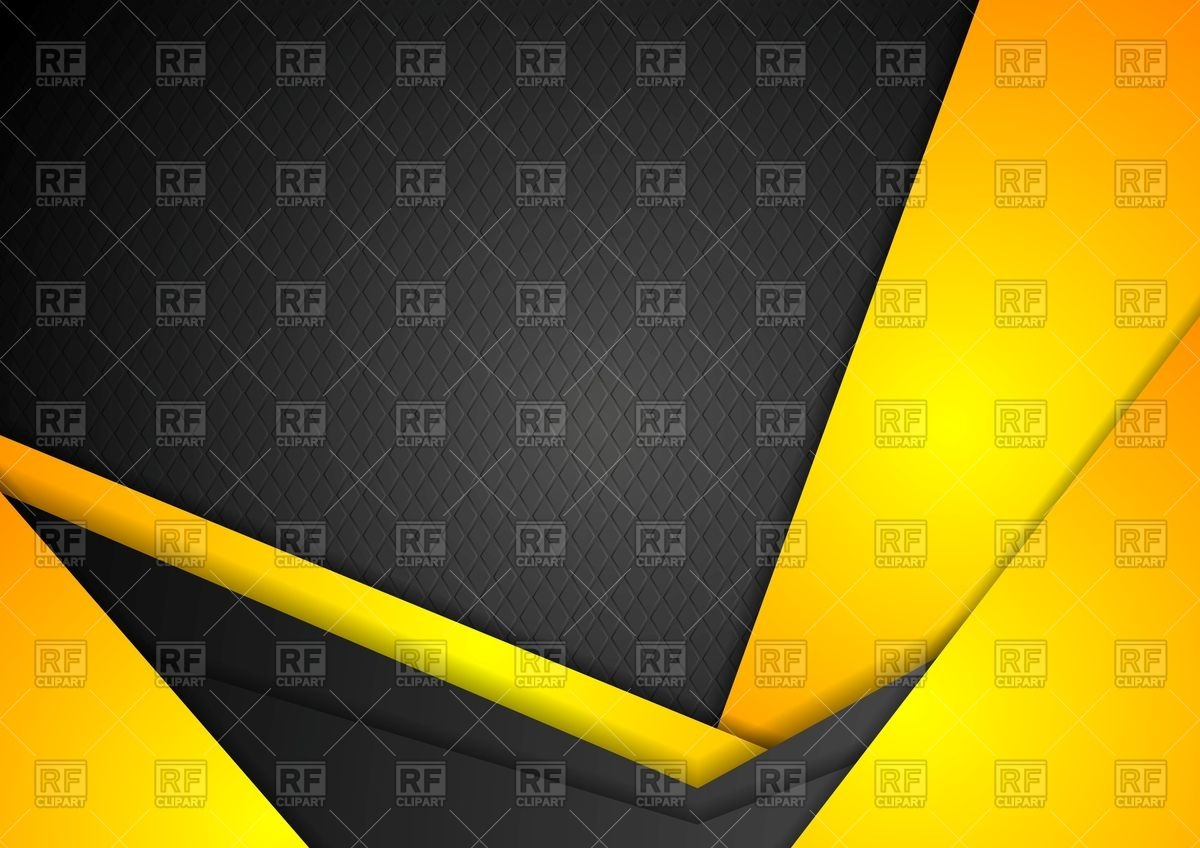 Abstract dark yellow background Vector Image #67504.