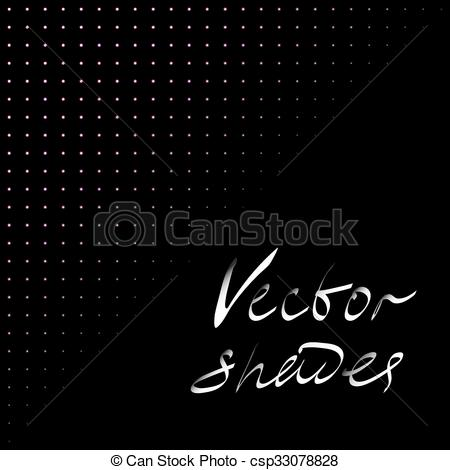 Vector Illustration of Darken vector shades..