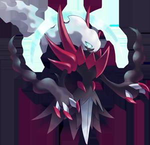 Pokemon 8491 Mega Darkrai Pokedex: Evolution, Moves, Location, Stats.