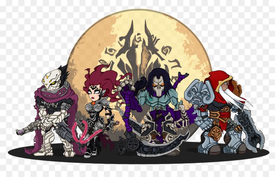 Darksiders Iii Animation png download.