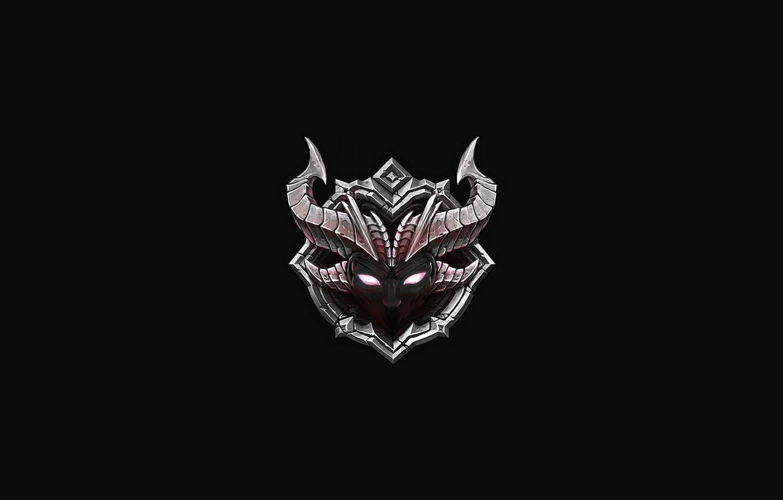 Wallpaper background, logo, form, emblem, logo, game, chaos.
