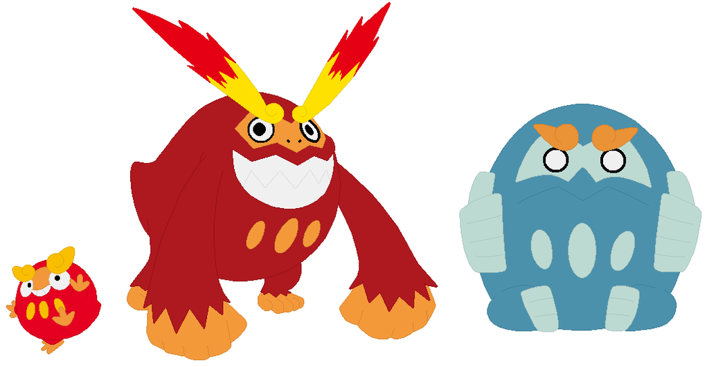 Darumaka, Darmanitan and Zen Mode Base by SelenaEde on DeviantArt.