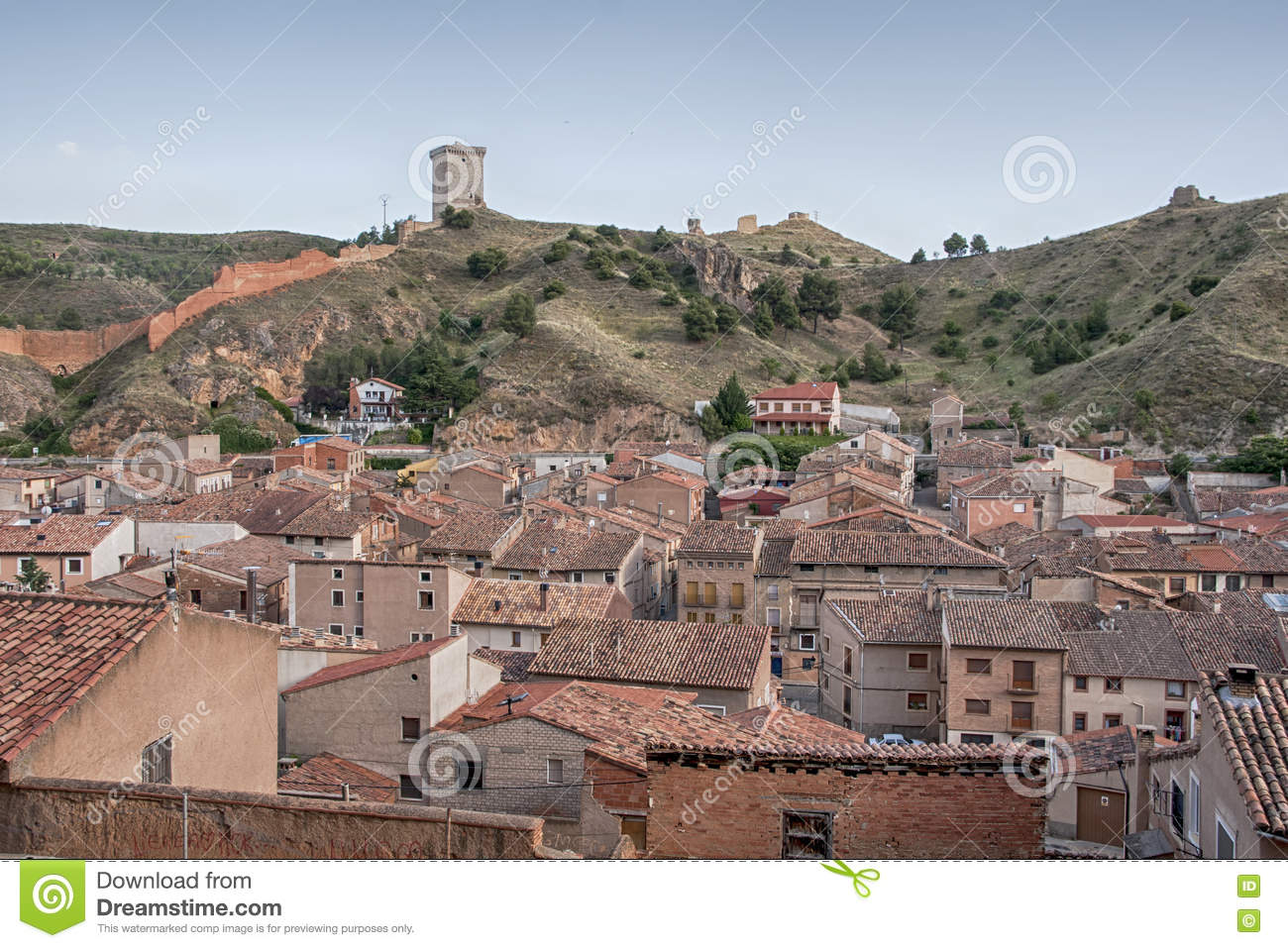 Medieval Villages Of Spain, Daroca In The Province Of Zaragoza.
