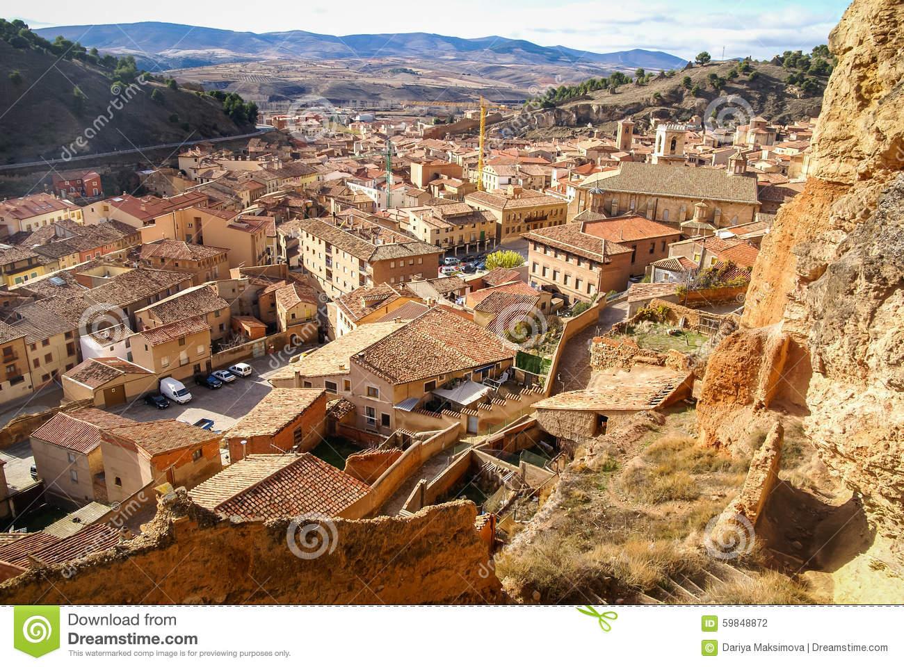 Daroca, Medieval Town, Teruel, Aragon, Spain Stock Photo.