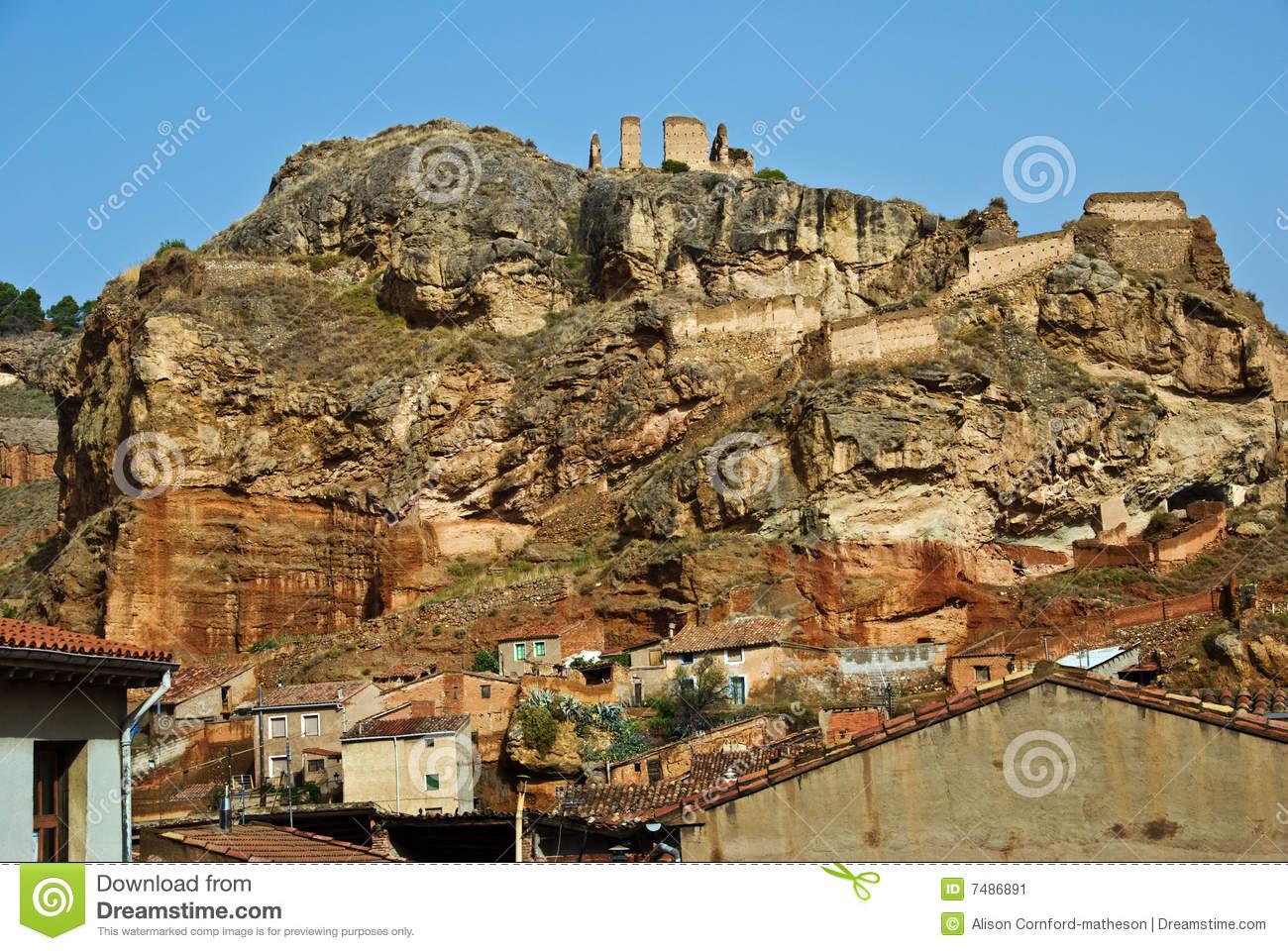Daroca, Spain Stock Image.