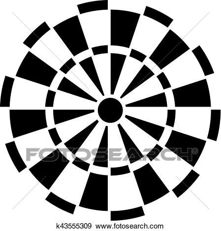 Dartboard Clip Art.