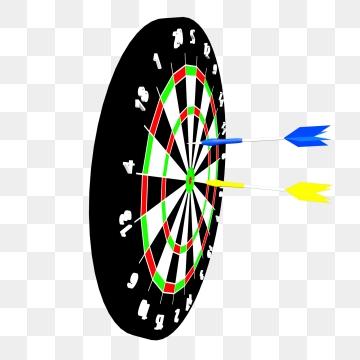 Dart Board PNG Images.