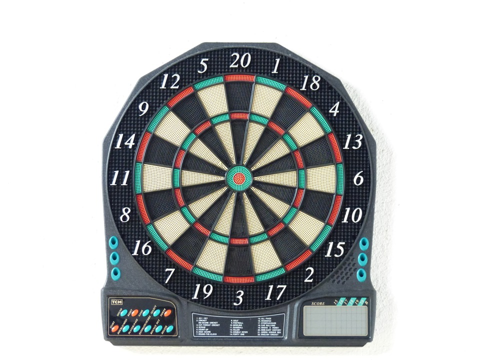 Free photo Game Of Darts Dart Board Dart Dartautomat.