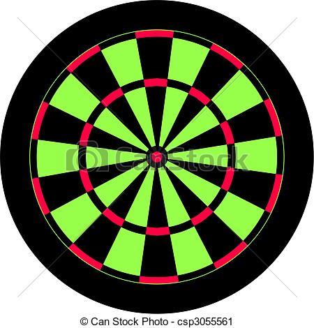 Clipart dart board.