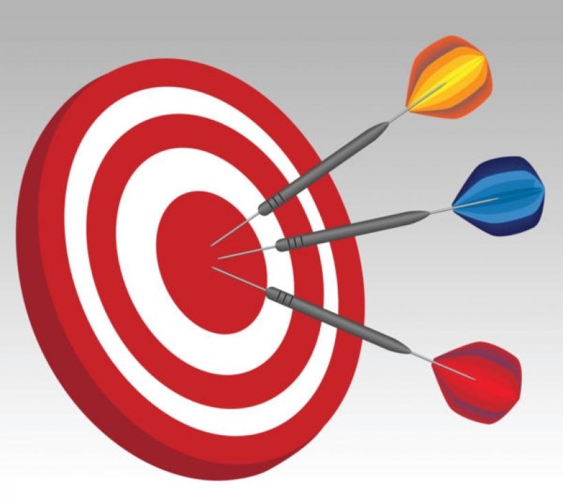 darts hitting dartboard vector stock photo free dart game clipart.
