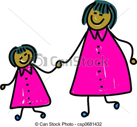 Daughter Clipart and Stock Illustrations. 25,329 Daughter vector.