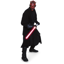 Star Wars Darth Maul Icon, PNG ClipArt Image.