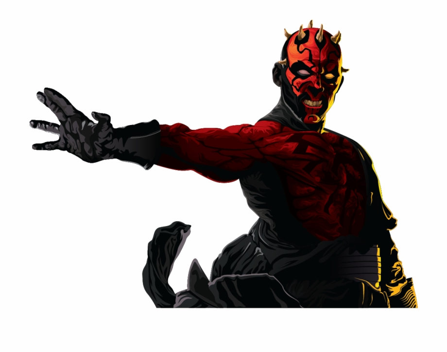 I Liked The Look Of Darth Maul Without The Textures,.