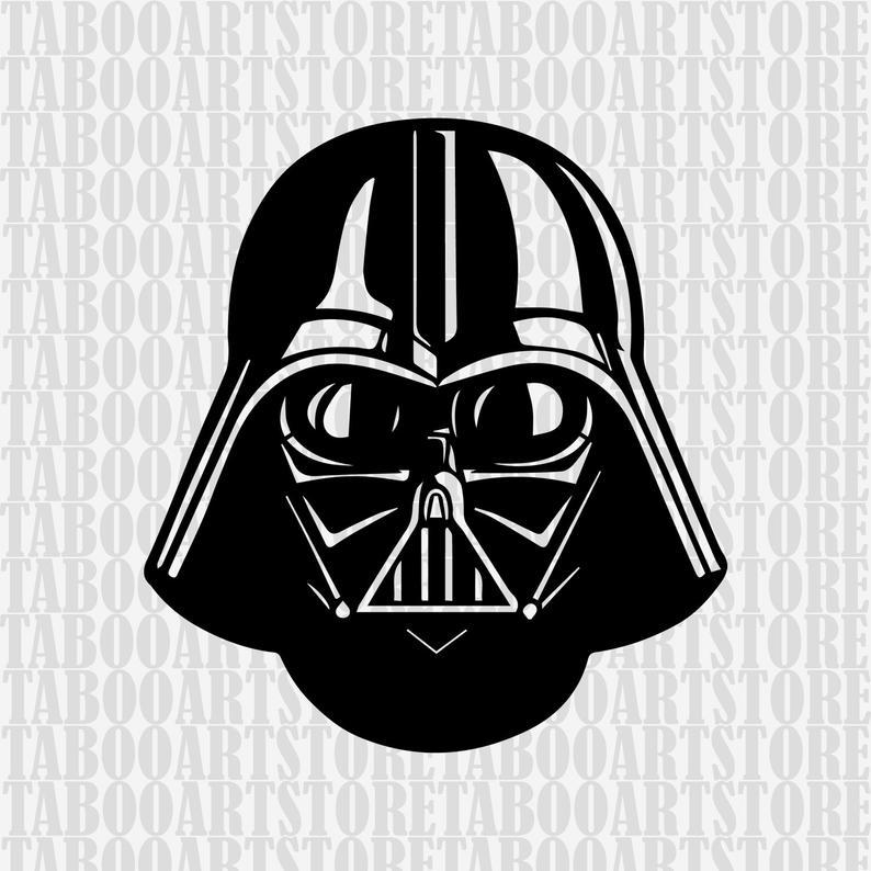 Star wars clipart, darth vader helmet svg ,star wars svg, darth vader  clipart, darth vader eps, darth vader silhouette, darth vader files.