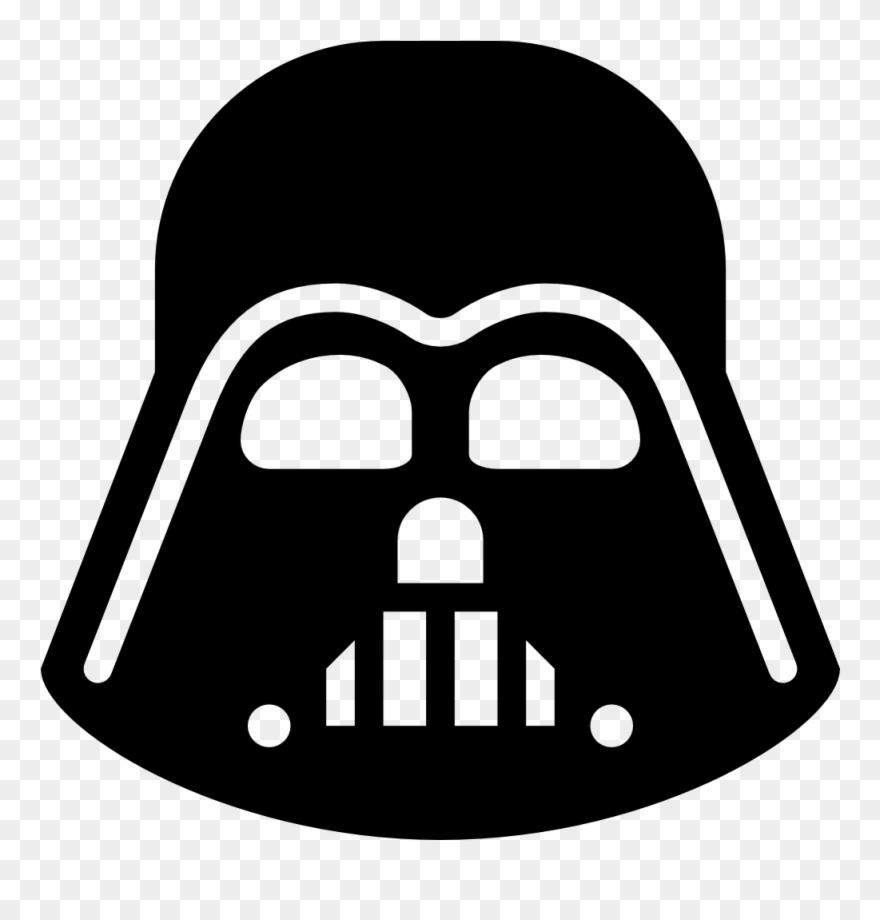 Darth Vader Clipart Minimalist.