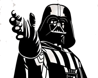 Darth Vader X Clipart Silhouette For Free On Mbtskoudsalg Png.