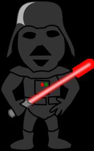 Darth Vader Comic Character Clip Art at Clker.com.