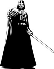 Darth Vader Clip Art, Vector Darth Vader.