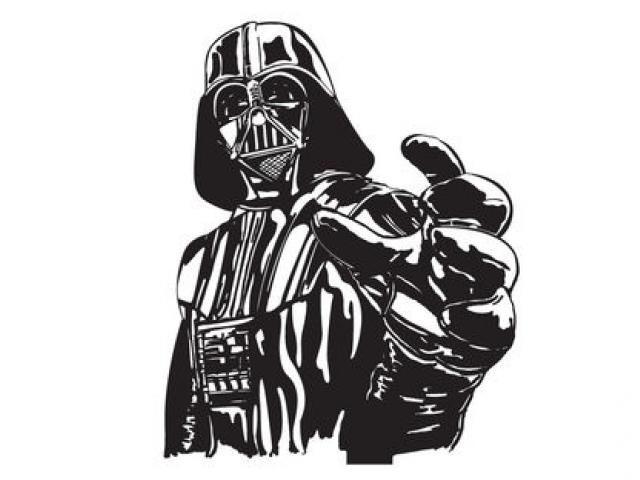 Darth Vader Clipart Black And White (81+ images in Collection) Page 1.