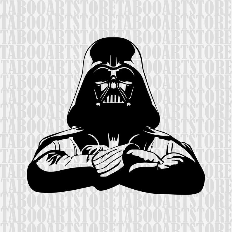 Star wars clipart, darth vader svg ,star wars svg, darth vader clipart,  darth vader eps, darth vader silhouette, darth vader files.