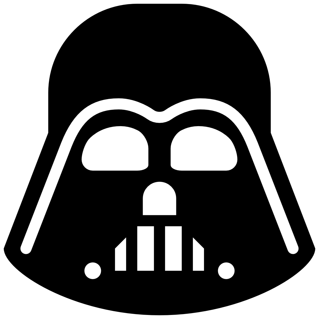 Darth Vader icon free download as PNG and ICO formats, VeryIcon.com.