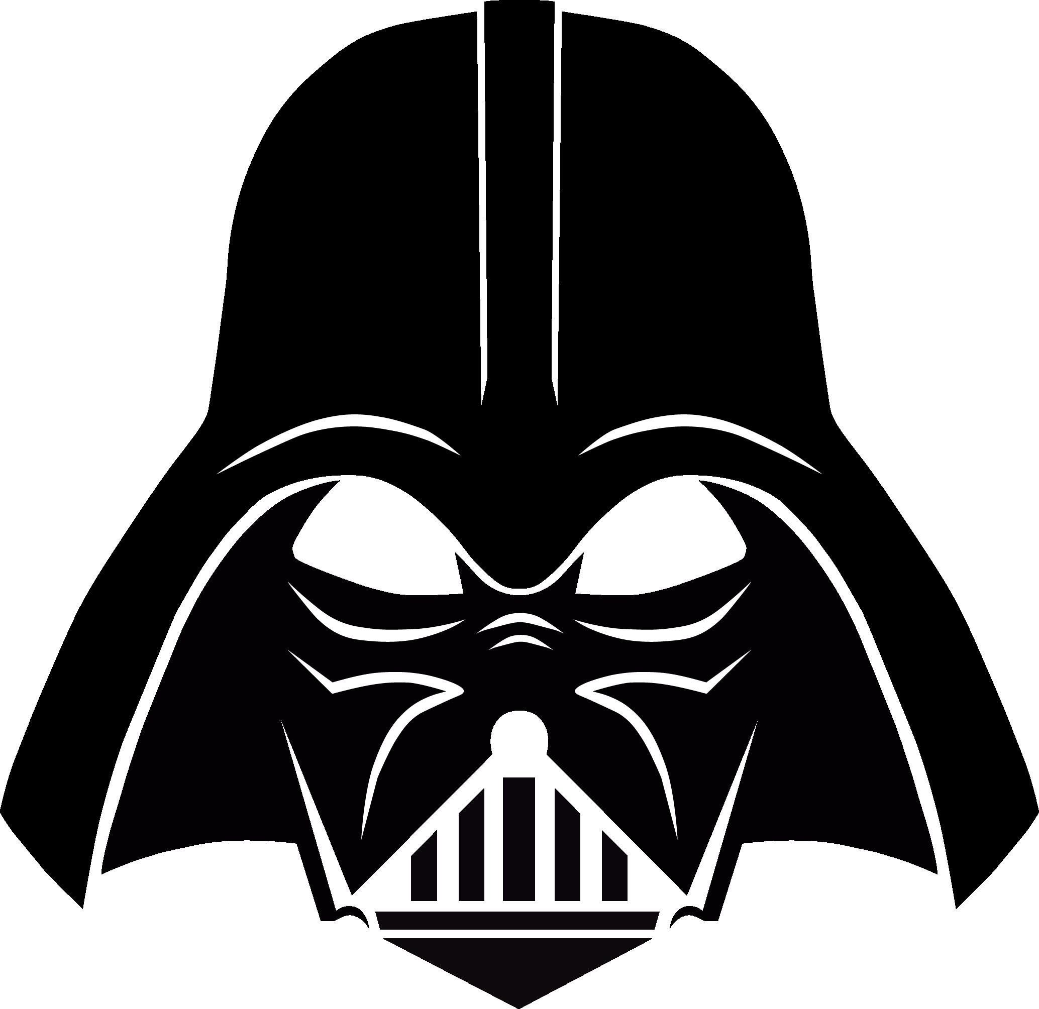 Darth Vader Stencil, free download.