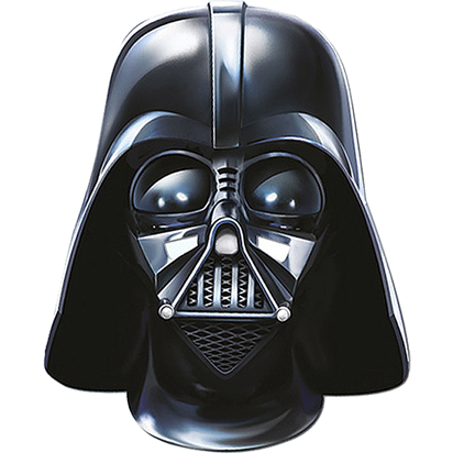 Mask: Darth Vader Mask.