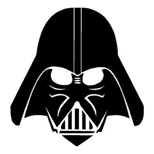 Star Wars Darth Vader Die Cut Vinyl Decal PV380.