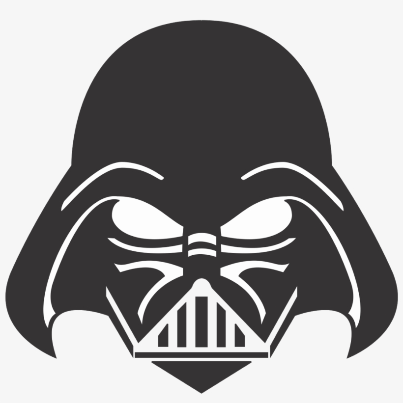 Darth Vader Face Png Clipart Transparent Stock.