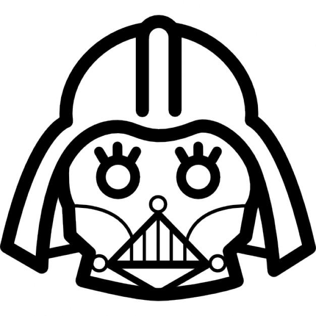 Darth Vader Head Drawing at GetDrawings.com.