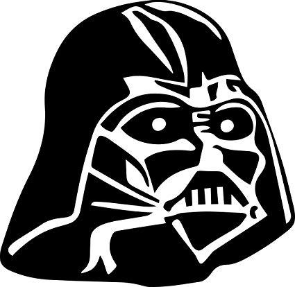 Amazon.com: Star Wars Darth Vader Helmet Decal V1: Everything Else.